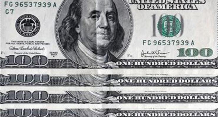 Курс покупки наличного доллара упал на 16 копеек