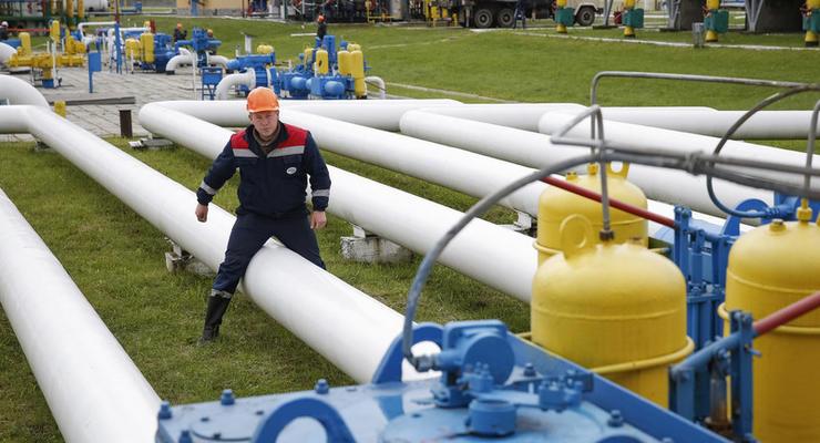 Украина увеличила транзит газа