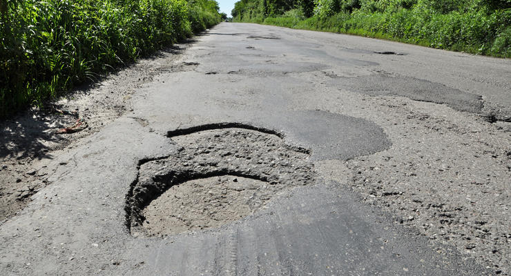 Украина вошла в десятку стран с самыми плохими дорогами