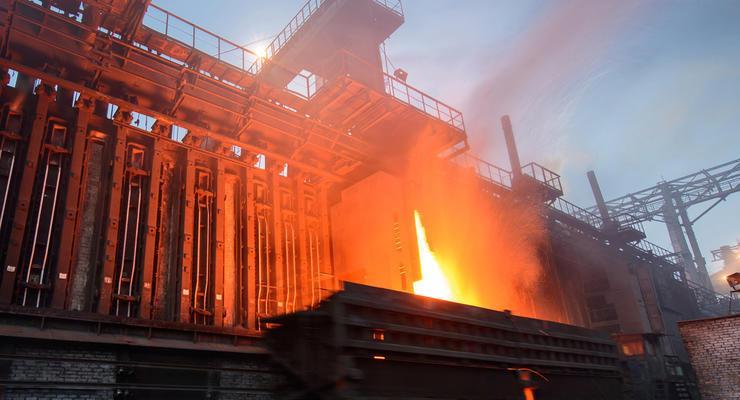 В Украине упала выплавка стали