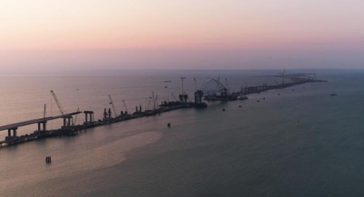 В строительстве Керченского моста участвуют фирмы из Нидерландов - СМИ