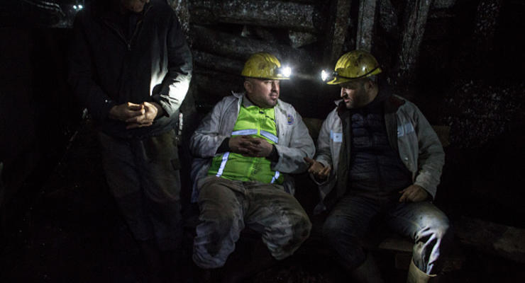 Свыше половины импортного угля поступает в Украину из России