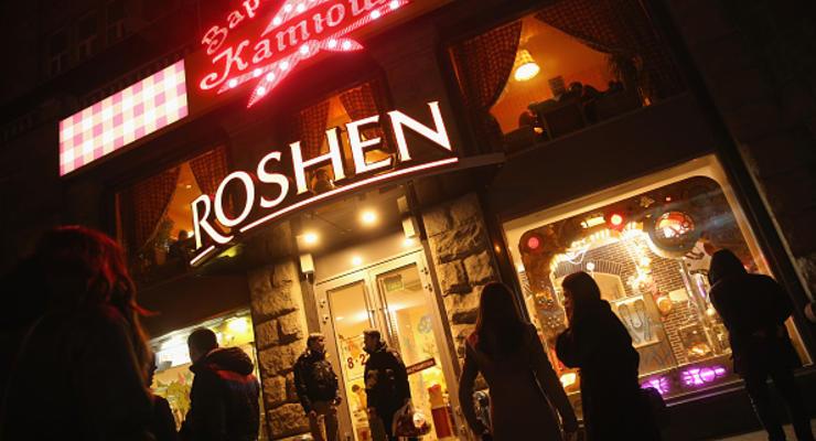 В России у Roshen отобрали торговую марку