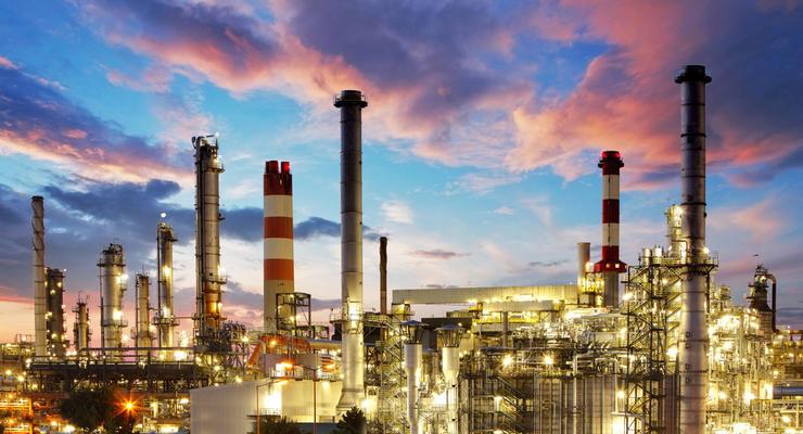 В Украине падает промышленное производство