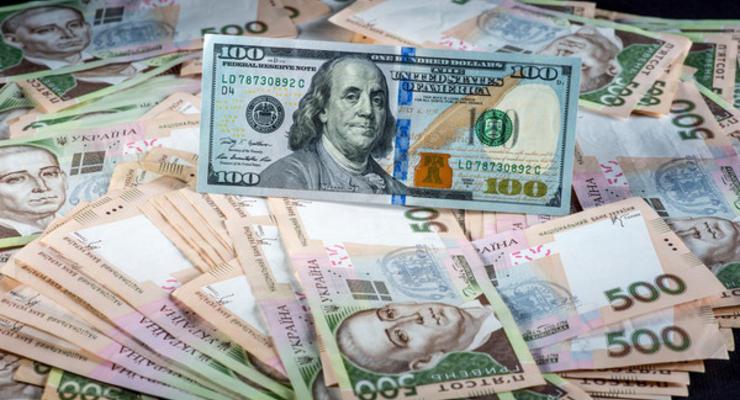 Курс валют на 24 июля: гривну ослабили