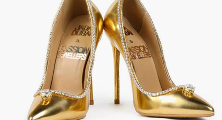 В Дубае показали самые дорогие в мире туфли за 17 миллионов долларов