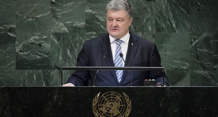 Перелет Порошенко и делегации в США на Генассамблею ООН стоил 4,2 млн гривен