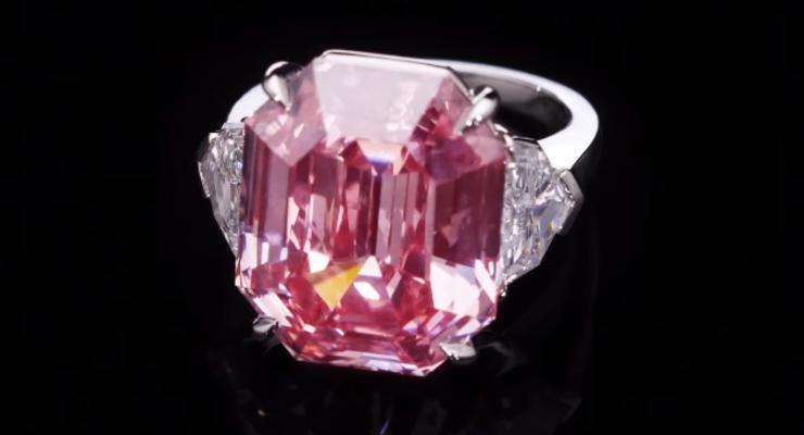 Большой розовый алмаз продали за 50 миллионов долларов
