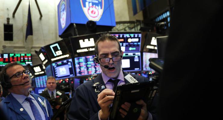 Биржи США показали рекордный рост за десять лет