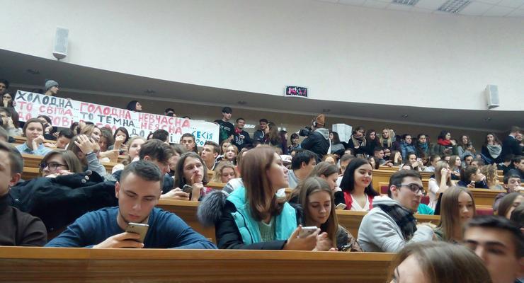 Министерство образования утеплит 25 вузов Украины