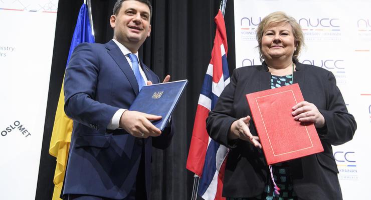 Украина и Норвегия будут вместе развивать энергетику