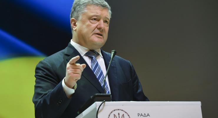 Порошенко поделился зарплатой президента