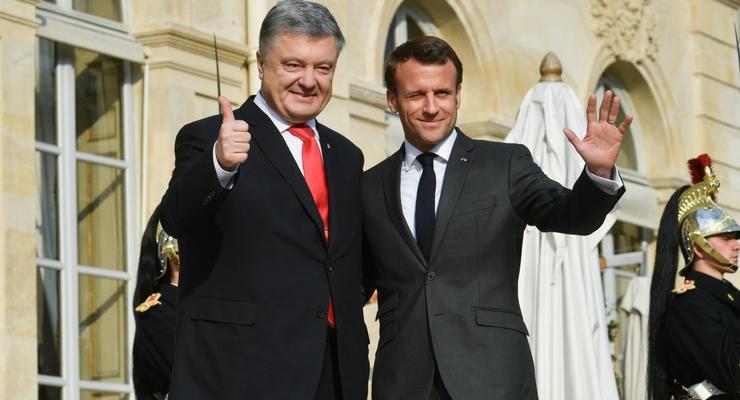 Порошенко договорился о вкладах в Украину от Меркель и Макрона