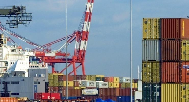 В Украине рост экспорта товаров опередил импорт