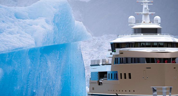 Первую в мире яхту-ледокол приобрел миллиардер из РФ