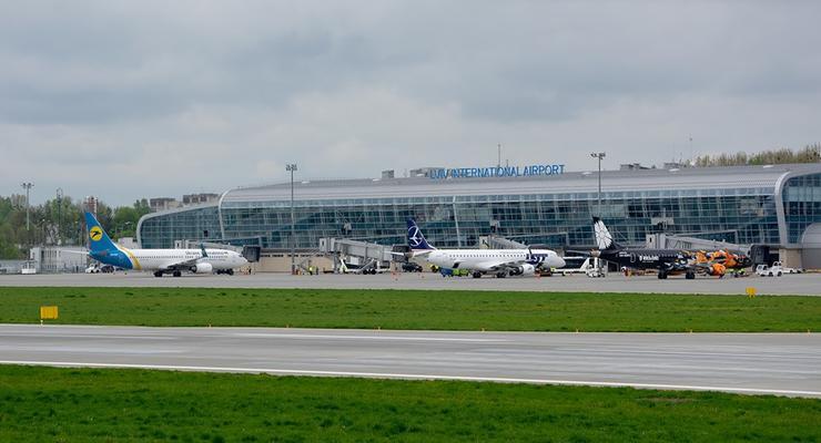 Пассажиропоток аэропорта Львов вырос почти вдвое