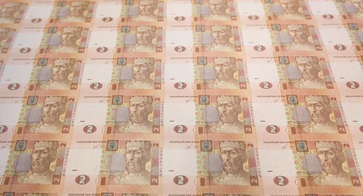 Остаток средств на казначейском счету Украины рекордно вырос