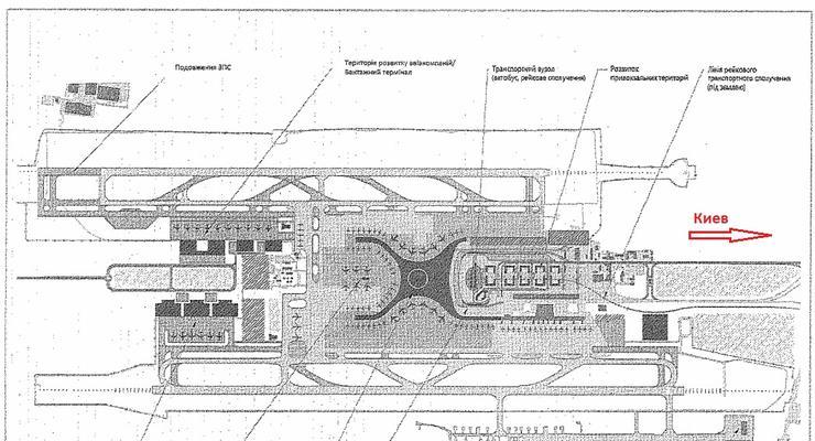 У людей заберут землю для постройки нового терминала Борисполя