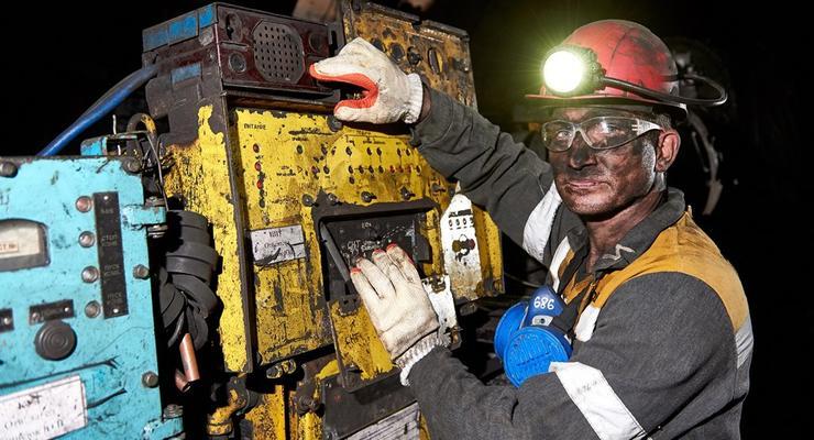 В Украине упала добыча угля