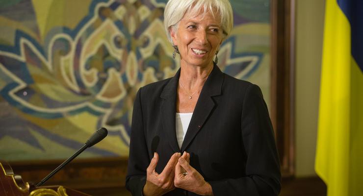 Глава МВФ обсудила с Зеленским поддержку Украины
