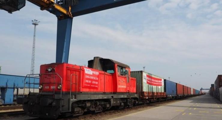 Украина, Беларусь и Литва запускают контейнерный поезд
