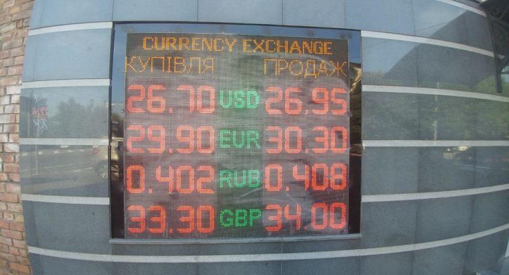 Гривна возобновила падение: Курс валют на 4 июня