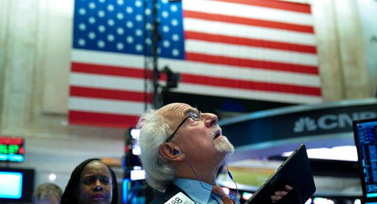 Биржи США закрылись преимущественно в минусе
