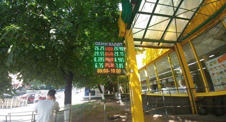 Гривна минимально подешевела: Курс валют на 18 июня
