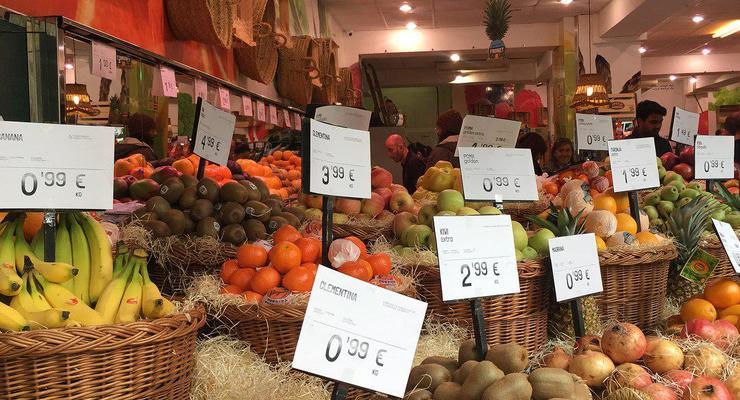 Как различаются цены на продукты в разных странах ЕС