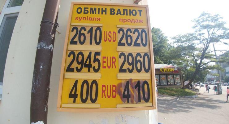 Гривна укрепилась после падения: Курс валют на 24 июня