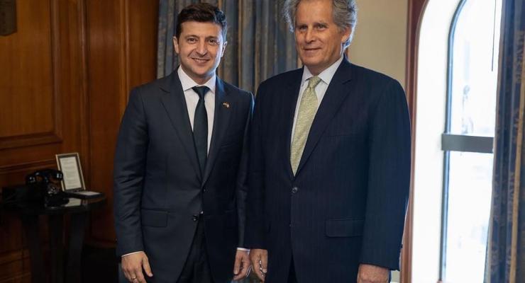 Зеленский назвал приоритетом сотрудничество с МВФ