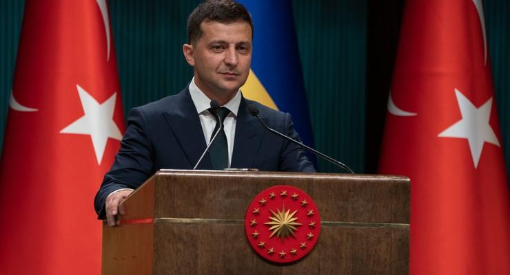 Между Украиной и Турцией могут ввести зону свободной торговли – Президент