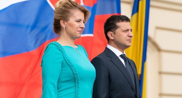 Словакия поддержит санкции против РФ - Зузана Чапутова