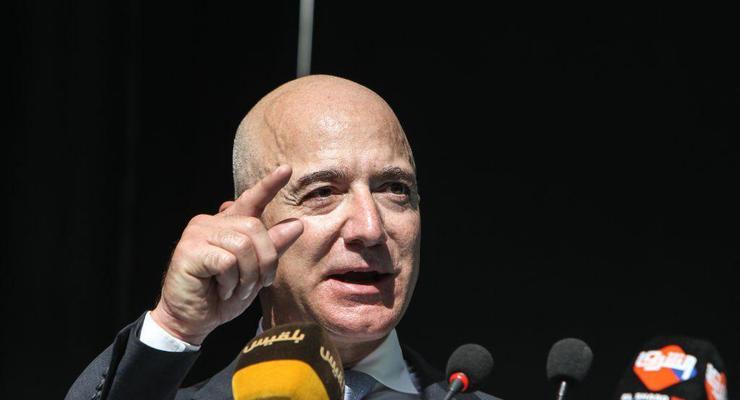 Безос потерял 7 млрд долларов из-за неудачной отчетности Amazon