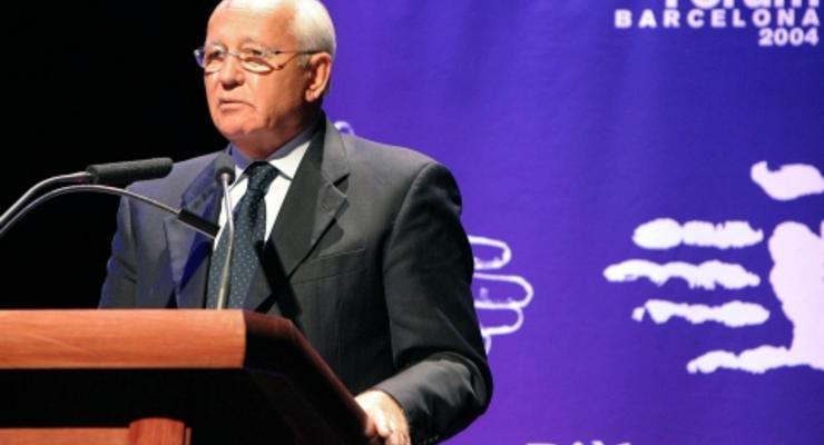 Горбачев снялся в рекламе пиццы