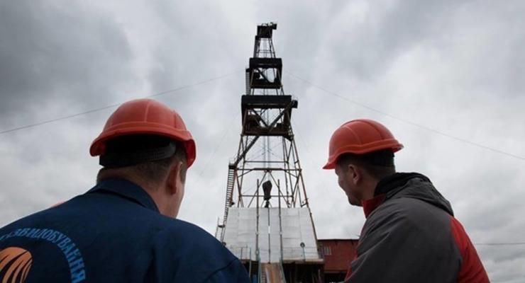 Добыча газа в Украине замедляется