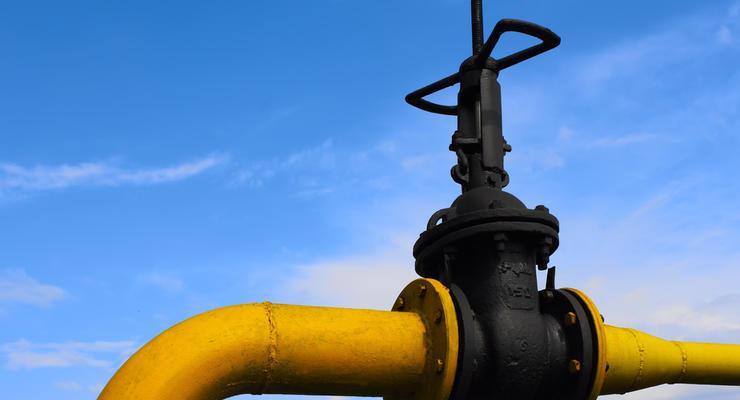 Украина резко сократила потребление газа