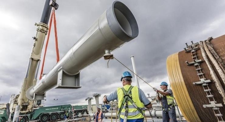 Подрядчик Северного потока-2 отвел суда из района прокладки трубопровода