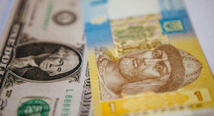 Курс валют на сегодня: НБУ немного ослабил гривну