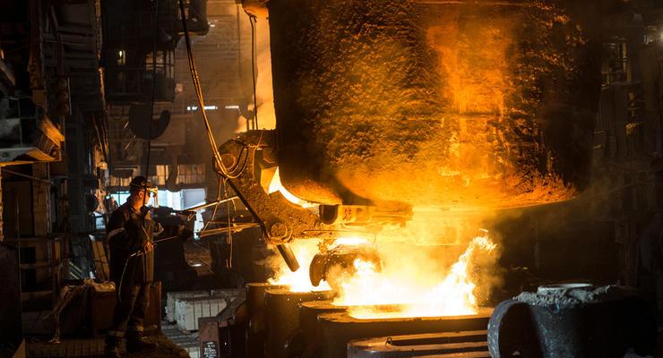 В Украине падает производство металлопродукции