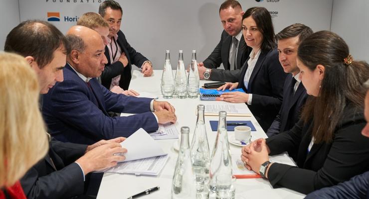 Зеленский провел переговоры с президентом ЕБРР