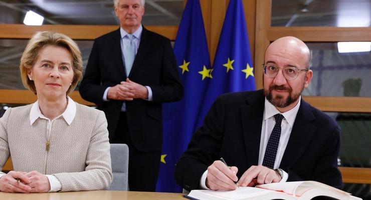 Главы ЕС подписали соглашение о выходе Великобритании из Евросоюза
