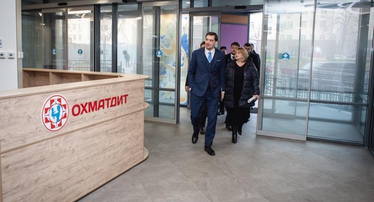 Советник премьера рассказал, когда достроят новый корпус Охматдета