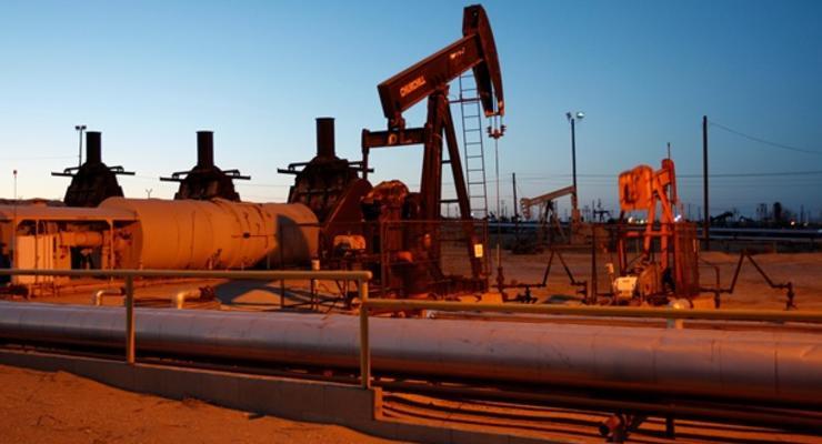 Нефть ускорила падение на данных о запасах в США