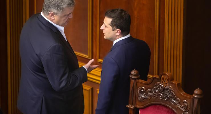 НАПК проверит декларации Зеленского и Порошенко: Подробности