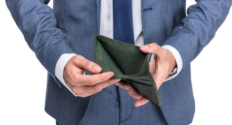 В Украине резко ускорился рост задолженности по зарплатам