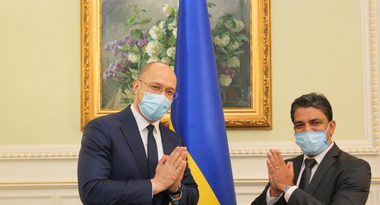 Шмыгаль встретился с послом Индии: О чем шла речь