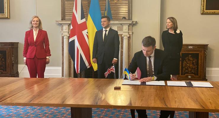 Великобритания обещает Украине 2,5 млрд фунтов: Меморандум