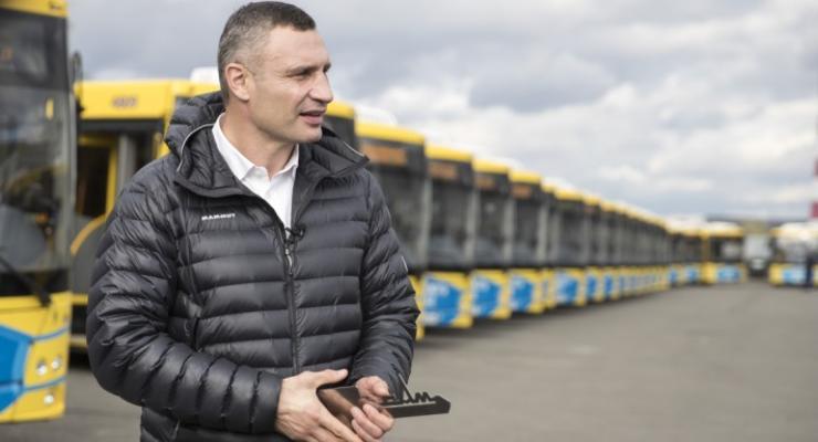 В Минэкономики раскритиковали Кличко за покупку 200 белорусских автобусов