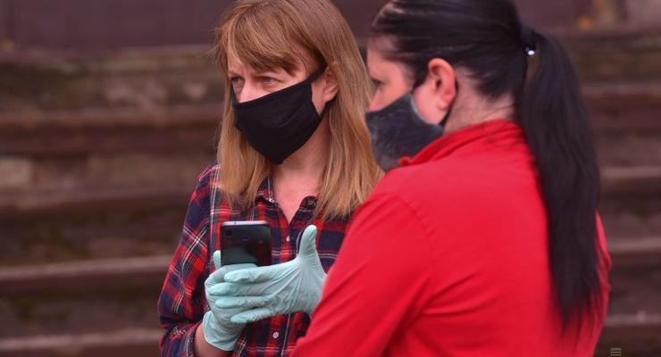 Названы штрафы за неношение масок в Украине: Подробности
